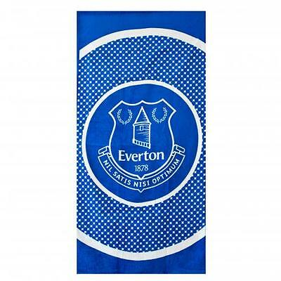 Everton Large Beach Towel (Official Merchandise)
