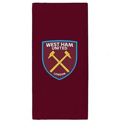 West Ham United Large Beach Towel (Official Merchandise)