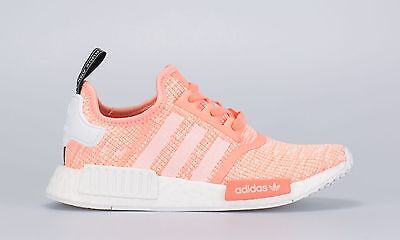 edf210ba9 ... Preview Of Adidas NMD Runner R1 W Sun Glow Pink Peach Coral Glitch  BY3034 Boost Womens ...