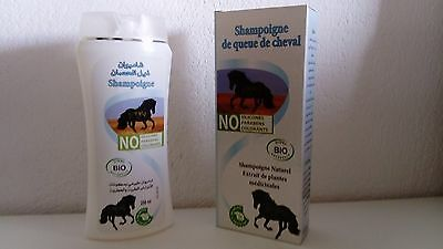 Lot De 2 Shampoing De Queue De Cheval