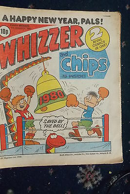 Whizzer And Chips Comic. 5Th Jan 1980      -Sheriff Starr /  Island Of Fear....