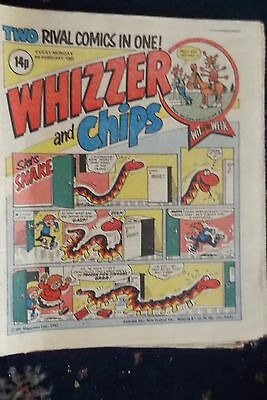 Whizzer And Chips Comic. *****6Th Feb 1982***junior Rotter....