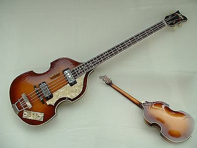 HÖFNER HOFNER HOEFNER ViOLiN 500/1 BEATLES BASS GERMANY 1966 RARE E-BASS GUITAR