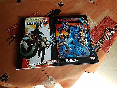 Marvel Deluxe - Lot Ultimates - 2 Tomes - Panini Comics
