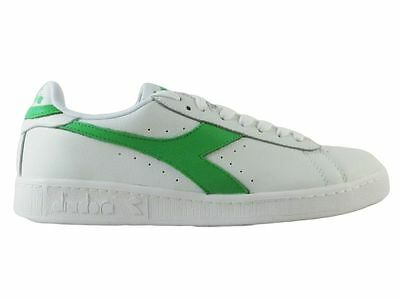 Shoes/Shoes Diadora Men Sneakers Game L Low Waxed White-Green n.45 50%)