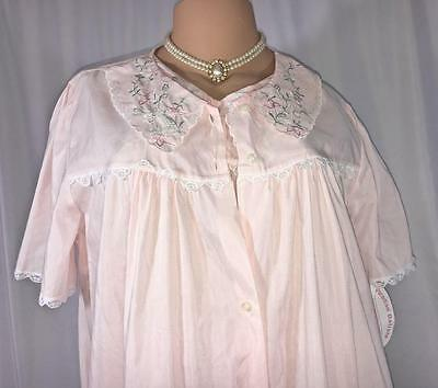 Vintage NWT NOS  2pc Gown Robe Set, Pink Size L