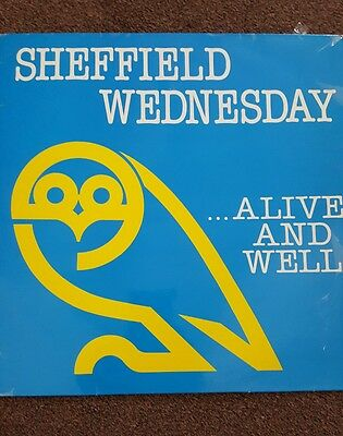 Sheffield Wednesday. Alive and well 12 inch vinyl