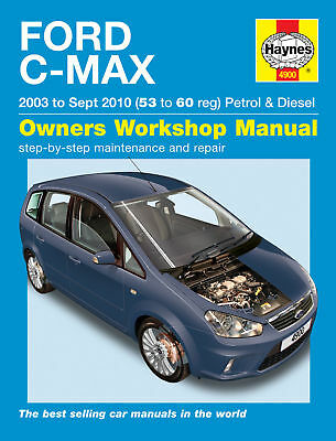 Ford C-MAX Petrol Diesel 2003-10 Haynes Manual 4900 NEW
