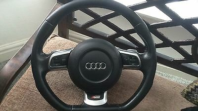 Audi A3 S3 RS3 8P Flatbottom Steering With Airbag DSG