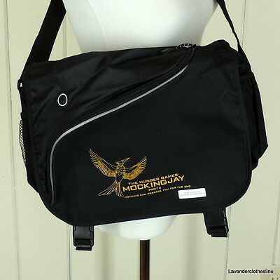 Leeds The Hunger Games Mocking Jay Part 2 Black Backpack NEW Promo Give Away?