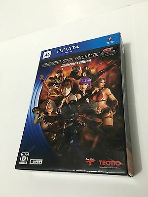 Dead or Alive 5 Plus Collector's Edition- PlayStation Vita - Japan Import