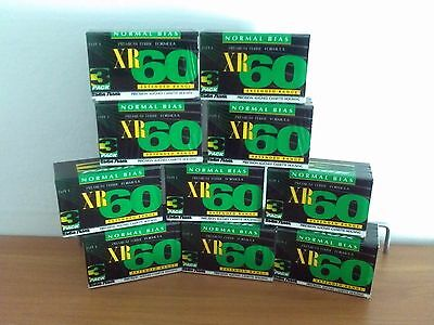 30 Audiocassette Vergini Da 60 Minuti In Pack