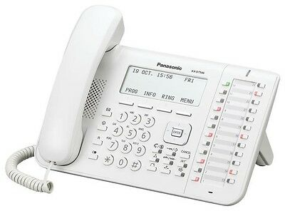 PANASONIC KX-UT136X-B SIP VoIP IP DESKTOP SIP PHONE WHITE **BRAND NEW BOXED**