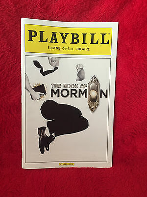 Broadway Playbill - The Book Of Mormon, September 2016, Nic Rouleau