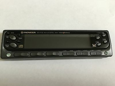 Pioneer DEH-P723 Disk player Stereo used Faceplates Old School Car Audio