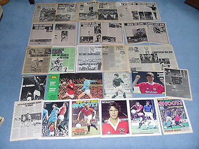 MANCHESTER UNITED FC MAGAZINE POSTERS & CUTTINGS 3 for 2 on Poster Sets