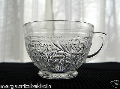 Anchor Hocking Glass Clear Sandwich 6 ounce Punch Cup