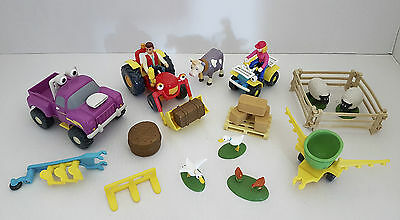 TRACTOR TOM FARM PLAYSET with Figures & Vehicles - Bundle - Lot