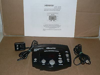 Used MEMOREX digital answering system telephone machine messaging work
