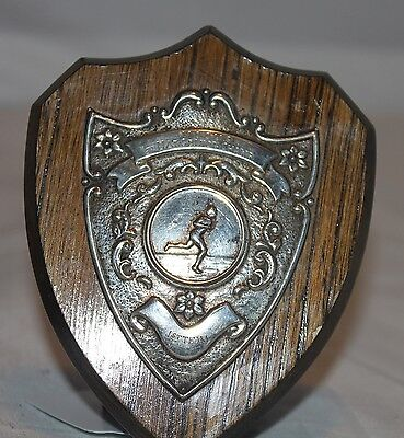 Antique Scottish Track and Field Trophy, Circa 1910-1930.