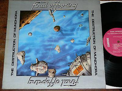 FINAL OFFSPRING The Destruction Of Mundhora LP 1977 France SPACE DISCO/COSMIC