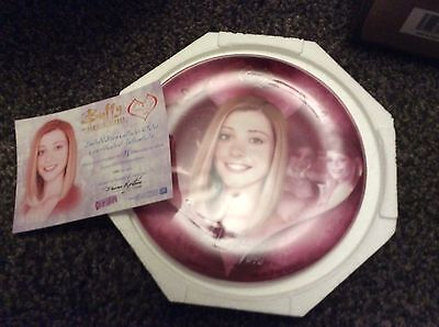 Buffy The Vampire Slayer - Collectors Plate - Willow