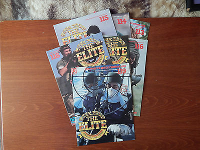 7X The Elite Against All Odds Mags Is. 113-119 Tuskegee Airmen Street Fighting