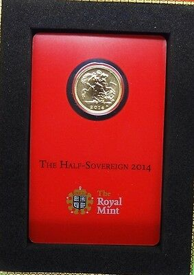 "2014-India ""british Royal Mint""  Gold Half Sovereign With ""i"" Mint Mark-Lot Of 2"