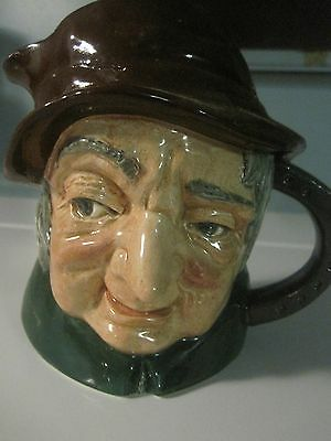 Royal Doulton Jug Uncle Tom Cobbleigh D6336 Mint Shape