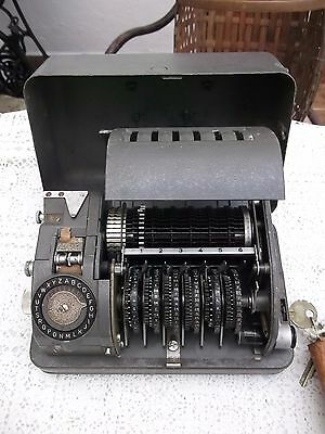 CX-52 CRYPTO CIPHER MACHINE RARE MODEL hagelin us army 5th army war NOT M-209