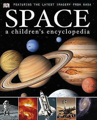 Space A Children's Encyclopedia Dk Reference Hardback Book New Free Post