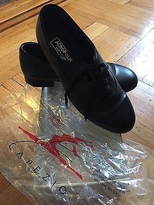 Capezio Acropolis Student Oxford black Character Dance shoes size 9W
