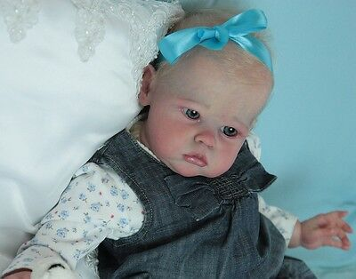 SOLE BLANK Sharlamae Brown COA AUTHENTIC BLANK reborn kit NOT A COMPLETE DOLL