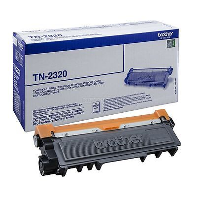 Brother TN-2320 Original OEM High Capacity Black Toner Cartridge next day delive