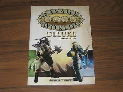 Savage Worlds Deluxe Explorer's Edition Core Rulebook SC Pinnacle 2012 Neu New