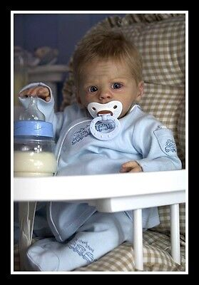 *TO CLEAR!* BLANK Josiah T Ross AUTHENTIC BLANK reborn kit NOT A COMPLETE DOLL