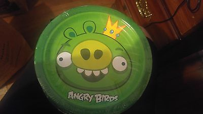 8 SEVEN INCH ANGRY BIRDS PLATES~ Birthday Party Supplies Room Decorations