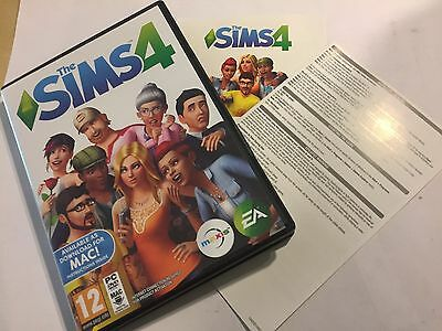 Windows Pc Apple Mac The Sims 4 Box & Instructions Only