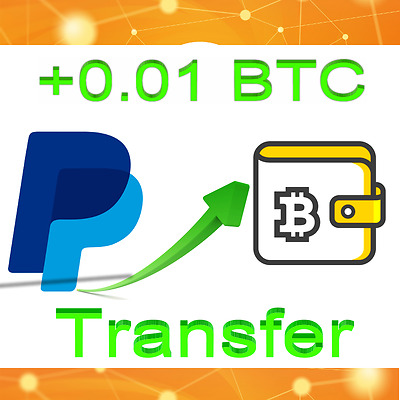 Bitcoin 0.01 BTC (10mBTC) Crypto Secure Transfer Wallet Confirmed Exchange BTC