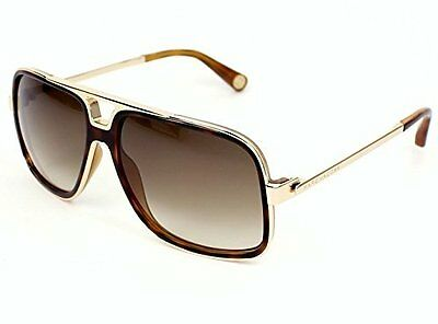 Marc Jacobs Sunglasses - MJ513/S / Frame: Gold/Havana Lens: Brown Gray Gradient