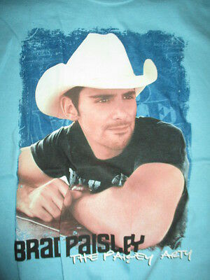 "BRAD PAISLEY ""The Paisley Party"" Concert Tour (MED) T-Shirt"
