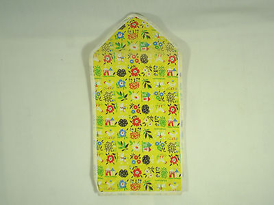 Vintage Blender Cover Quilted Fabric and Plastic New Old Stock