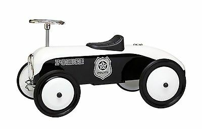 Retro Police Car Foot To Fllor Racing Pedal Car Kids Tot Rod Ride On Scooter