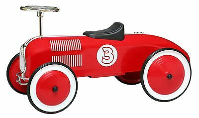 Red Racer Foot To Fllor Racing Pedal Car Kids Tot Rod Ride On Scooter