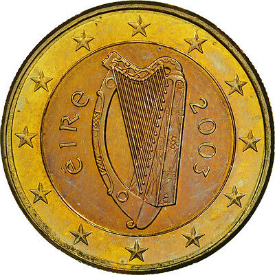 [#461379] IRELAND REPUBLIC, Euro, 2003, UNZ, Bi-Metallic, KM:38