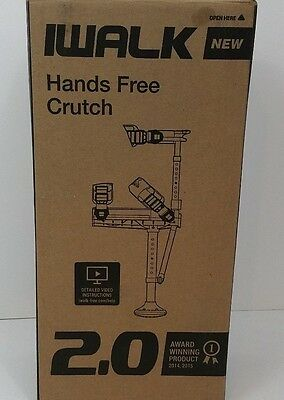 *New* iWALK 2.0 Hands Free Knee Crutch *Free Shipping*