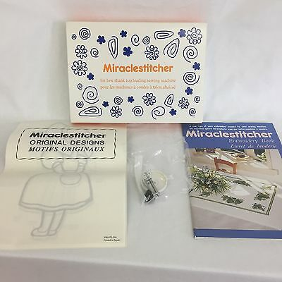 NEW Kenmore MIRACLESTITCHER For Low Shank Top Loading Sewing Machine Embroidery