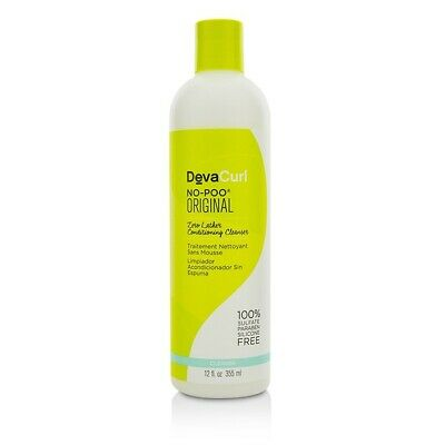 DevaCurl No-Poo Original (Zero Lather Conditioning Cleanser - For Curly 355ml