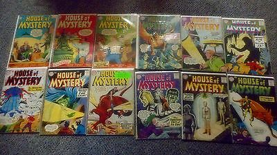 Awesome Dc House Of Mystery Lot, Collection Of 56 Issues Vintage Group Look