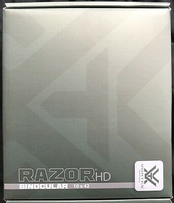 *VORTEX Razor HD 10x42 Binoculars RZB-2102 BRAND NEW IN BOX WITH FREE SHIPPING*